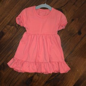 Other - Coral Twirl Dress Size 12 months
